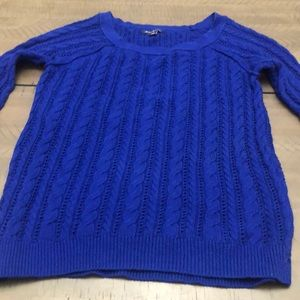 American Eagle outfitters small royal blue sweate